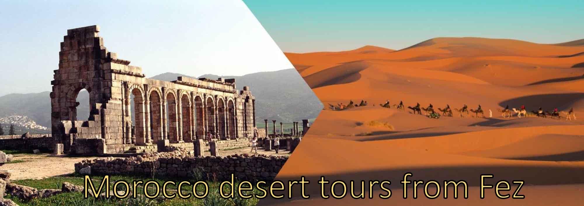 Morocco desert tours from Fez